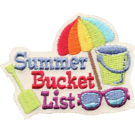 S-4789 Summer Bucket List Patch