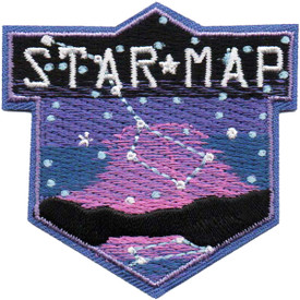 S-4794 Star Map Patch