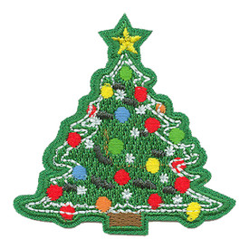 S-0415 Christmas Tree Patch