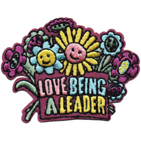 S-4816 Love Being A Leader Patch