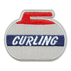 S-0416 Curling (The Rock) Patch