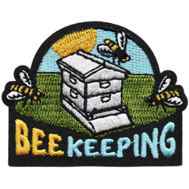 S-4830 Bee Keeping Patch
