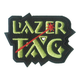 S-0418 Lazer Tag Patch