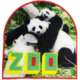 S-4834 Zoo (Panda) Patch