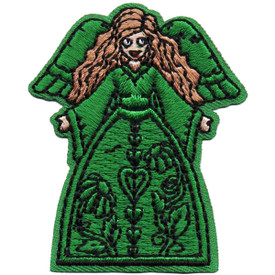 S-4835 Green Angel Patch