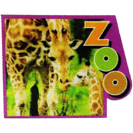 S-4836 Zoo (Giraffe) Patch