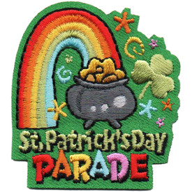 S-4839 St. Patrick's Day Parade Patch