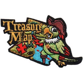 S-4840 Treasure Map Patch