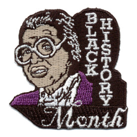 S-0420 Black History Month Patch
