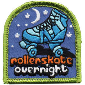 S-4846 Roller Skate Overnight Patch