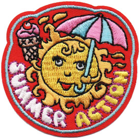 S-4853 Summer Action Patch