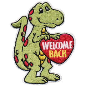 S-4854 Welcome Back Patch