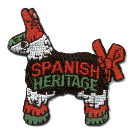 S-0421 Spanish Heritage Patch