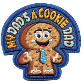 S-4864 My Dad's A Cookie Dad Patch