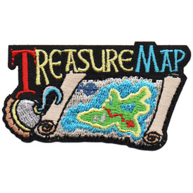S-4865 Treasure Map Patch