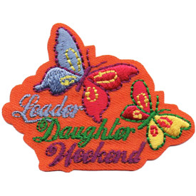 S-4869 Leader Daughter Weekend Patch