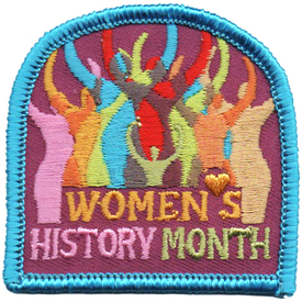 S-4870 Women's History Month Patch