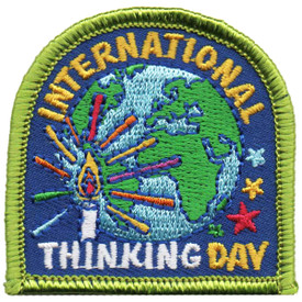 S-4872 International Thinking Patch