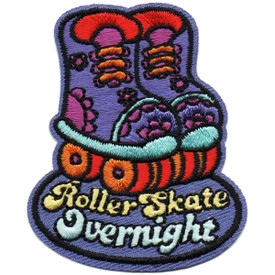 S-4873 Roller Skate Overnight Patch