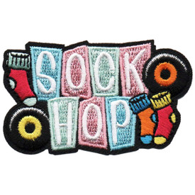 S-4877 Sock Hop Patch