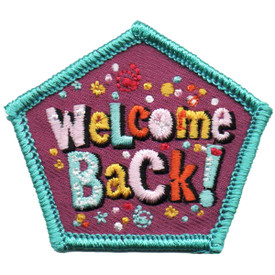 S-4879 Welcome Back Patch