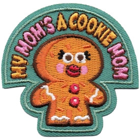 S-4886 My Mom's A Cookie Mom Patch
