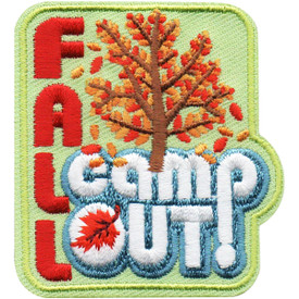 S-4936 Fall Campout Patch