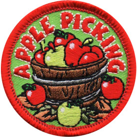 S-4937 Apple Picking Patch