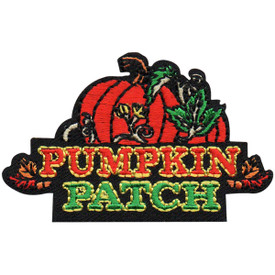 S-4938 Pumpkin Patch Patch