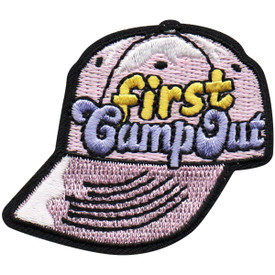 S-4949 First Campout Patch