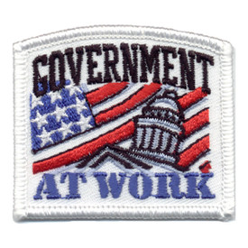 S-0432 Government At Work Patch