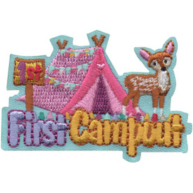 S-4951 First Campout Patch