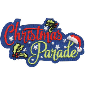 S-4953 Christmas Parade Patch