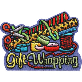 S-4954 Gift Wrapping Patch