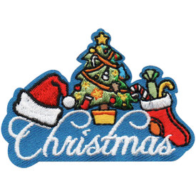 S-4955 Christmas Patch