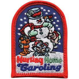 S-4963 Nursing Home Caroling Patch