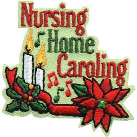 S-4967 Nursing Home Caroling Patch