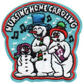 S-4969 Nursing Home Caroling Patch