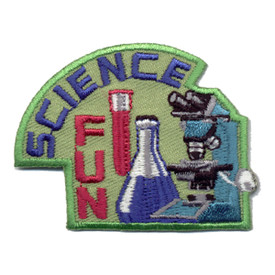 S-0434 Science Fun Patch