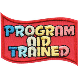 S-4974 Program Aid Trained Patch