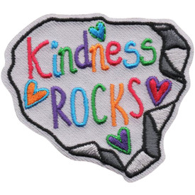 S-4982 Kindness Rocks Patch