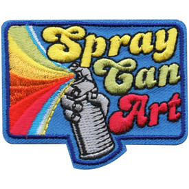 S-4984 Spray Can Art Patch