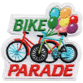 S-4995 Bike Parade Patch