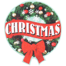 S-5004 Christmas Patch