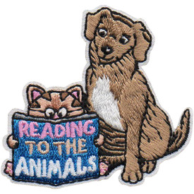 S-5009 Reading to Animals Patch