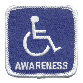 S-0441 Handicap Awareness Patch