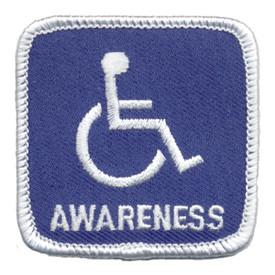 S-0441 Handicap Awareness Patch