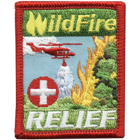 S-5028 Wildfire Relief Square Patch