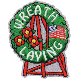 S-5030 Wreath Laying Patch
