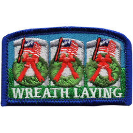 S-5031 Wreath Laying Patch